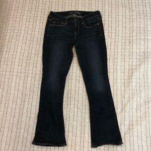 American Eagle Skinny Kick Short Jeans